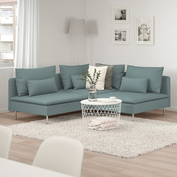 S derhamn canap d 39 angle 3 places finnsta turquoise Canape tomelilla ikea