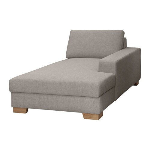 s rvallen m ridienne droite ten gris clair ikea. Black Bedroom Furniture Sets. Home Design Ideas