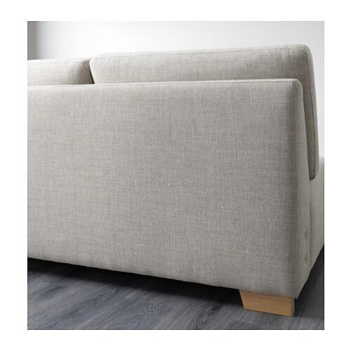 s rvallen module 2 places pr canap ten gris clair ikea. Black Bedroom Furniture Sets. Home Design Ideas