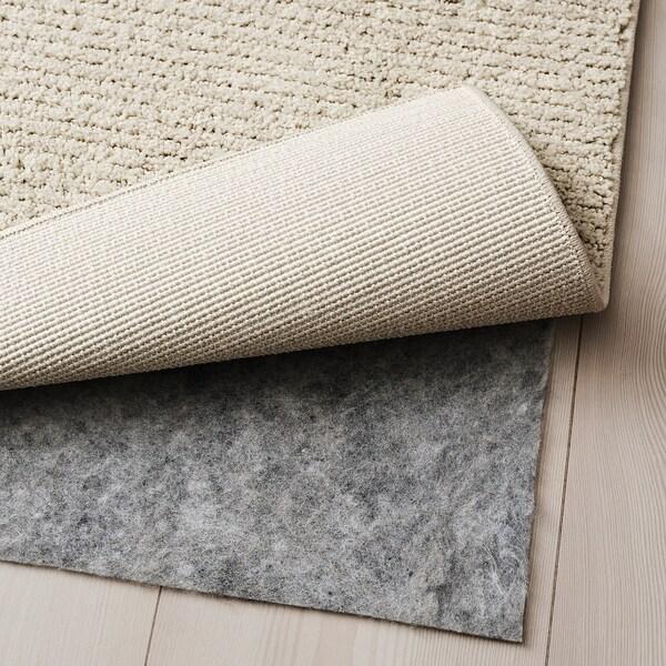 SPORUP Tapis, poils ras, beige clair, 170x240 cm