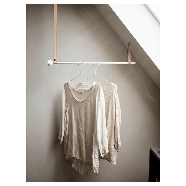 STAJLIG Cintre, intérieur/extérieur, blanc