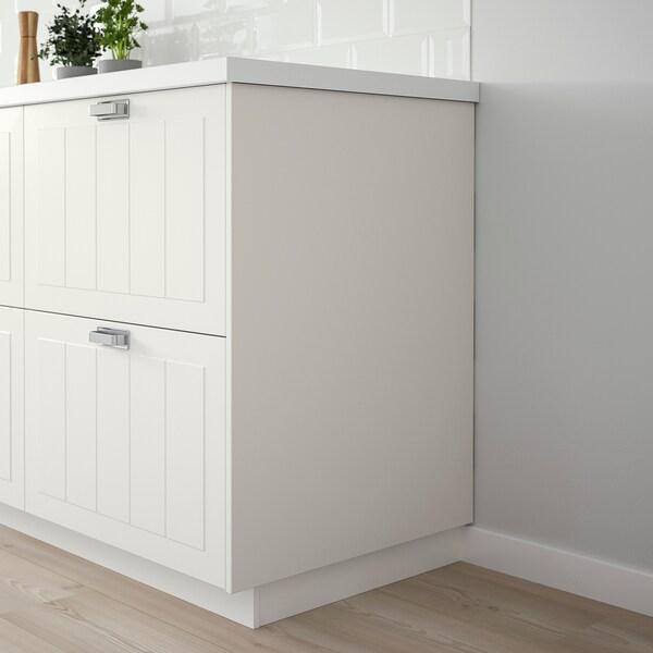 STENSUND Panneau latéral de finition, blanc, 39x240 cm