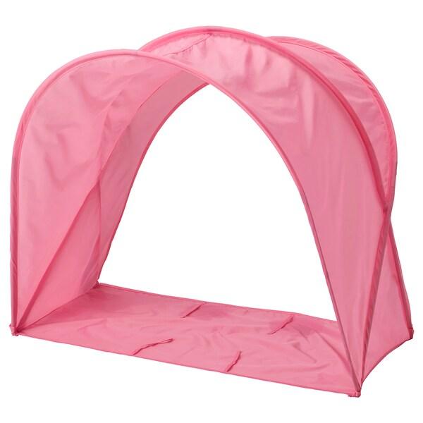 SUFFLETT Tente pour lit, rose, 70/80/90
