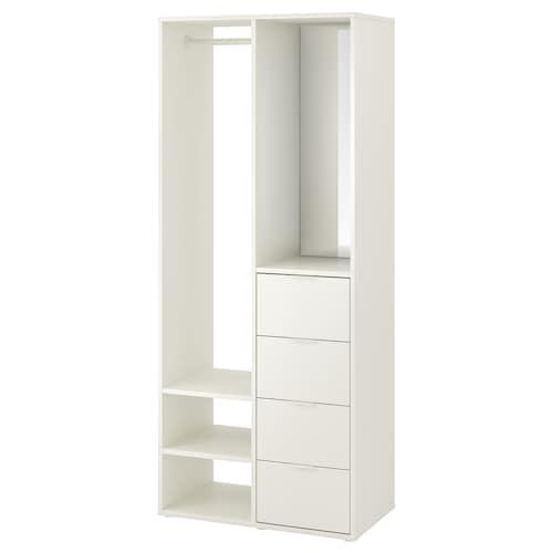 IKEA SUNDLANDET Armoire ouverte