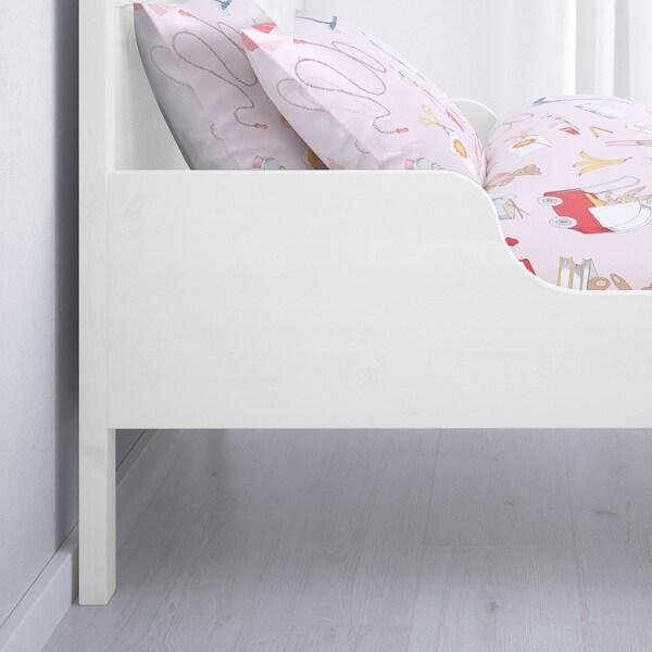 SUNDVIK Struct lit ext av sommier à lattes, 80x200 cm