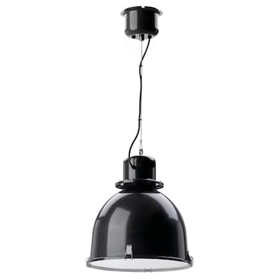 SVARTNORA Suspension, noir, 38 cm