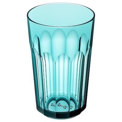 SVARTSJÖN gobelet turquoise 12 cm 270 ml
