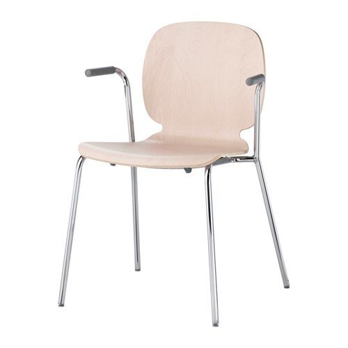 Svenbertil chaise accoudoirs ikea for Chaise assis genoux ikea