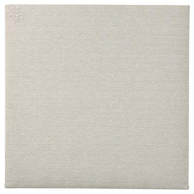 SVENSÅS Tableau-mémo avec punaises, beige, 60x60 cm