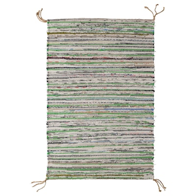 TÅNUM Tapis tissé à plat, coloris assortis, 60x90 cm