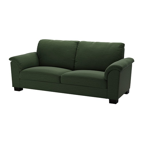 tidafors canap 3 places hensta vert ikea. Black Bedroom Furniture Sets. Home Design Ideas