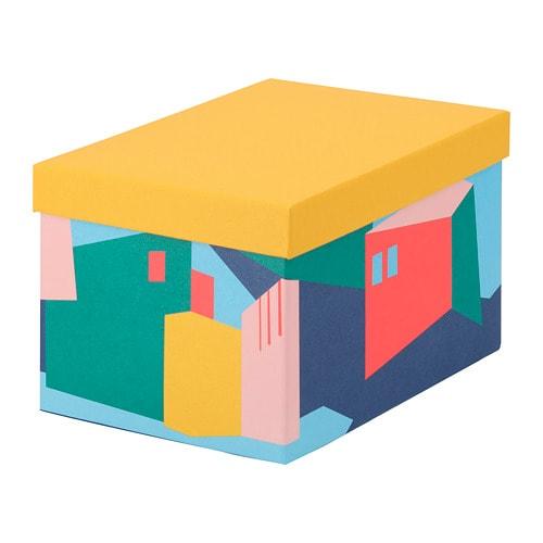 TJENA Boîte de rangement avec couvercle - IKEA