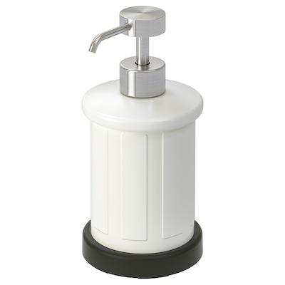 TOFTAN distributeur savon blanc 17 cm 400 ml