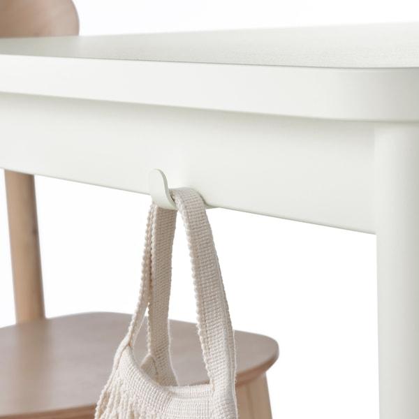 TOMMARYD Table, blanc, 130x70 cm