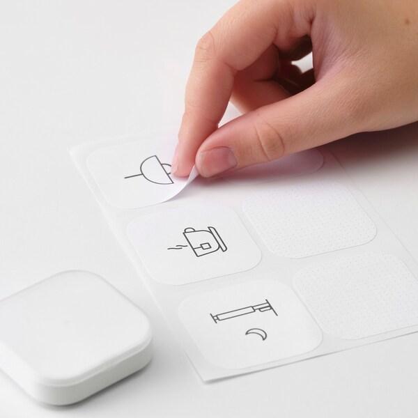 TRÅDFRI Lanceur de scénario connecté, blanc