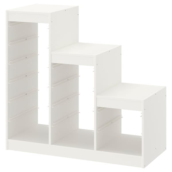 TROFAST Structure, blanc, 99x44x94 cm