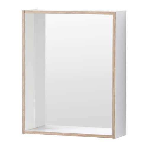 Ikea miroir avec rangement - Miroir avec etagere salle bain ...