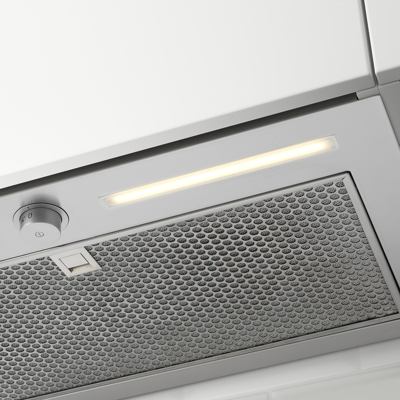 UNDERVERK Hotte aspirante intégrée - acier inoxydable 11 cm