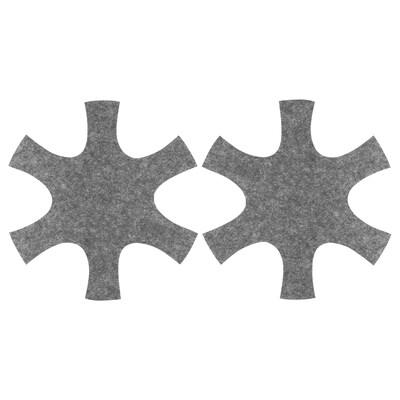 UTRUSTAD Protège poêle, gris, 38 cm