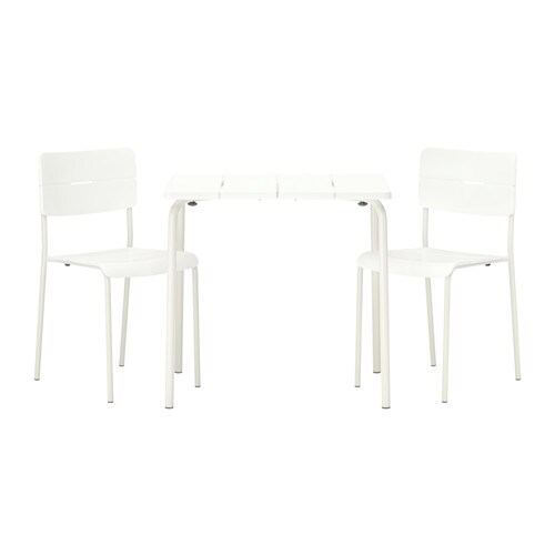 V dd table 2 chaises ext rieur ikea - Ikea salon exterieur ...