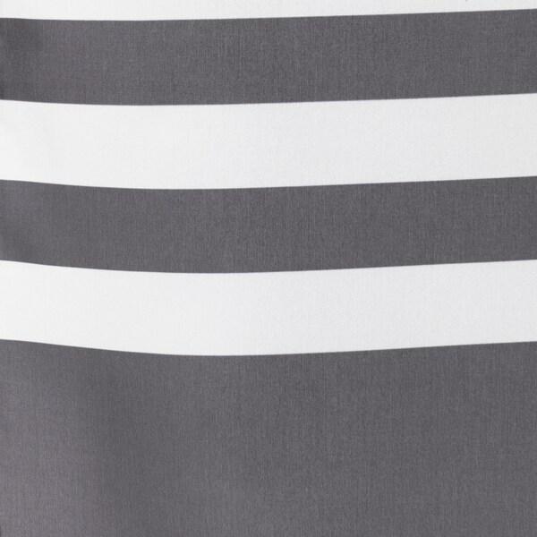 VADSJÖN Rideau de douche, gris foncé, 180x200 cm