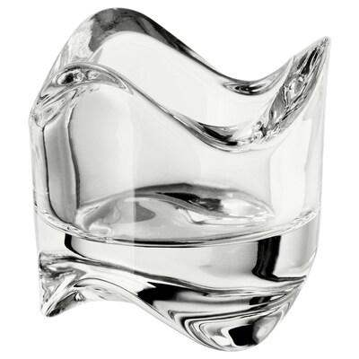 VÄSNAS Photophore, verre transparent, 6 cm