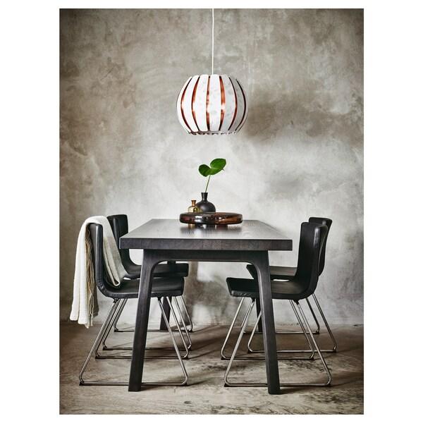 VÄSTANBY Table, brun foncé/Västanå brun foncé, 170x78 cm