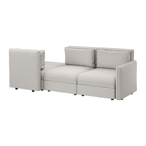 VALLENTUNA Canapé 3 places - Orrsta gris clair - IKEA