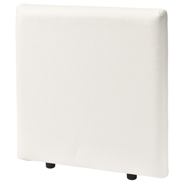 VALLENTUNA Dossier, Murum blanc, 80x80 cm