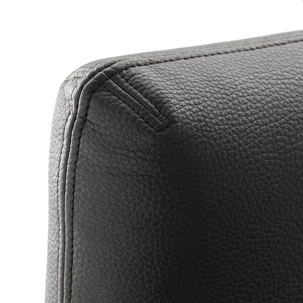 VALLENTUNA Dossier, Murum noir, 80x80 cm
