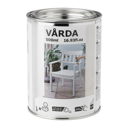 v rda teinture bois ext rieur blanc ikea. Black Bedroom Furniture Sets. Home Design Ideas