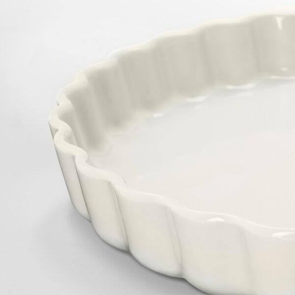 VARDAGEN moule à tarte blanc cassé 4 cm 32 cm