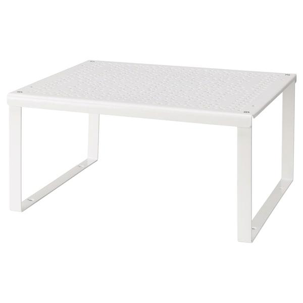 VARIERA Demi-étagère, blanc, 32x28x16 cm