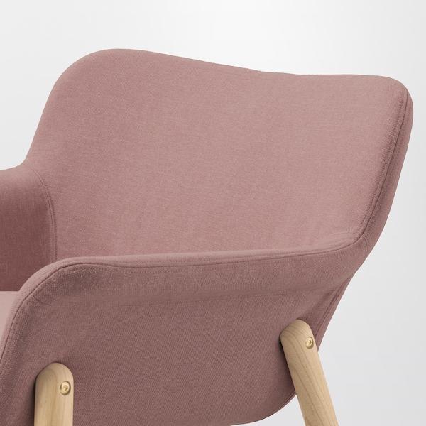 VEDBO fauteuil Gunnared brun-rose clair 75 cm 73 cm 65 cm 24 cm 20 cm 45 cm 48 cm 44 cm