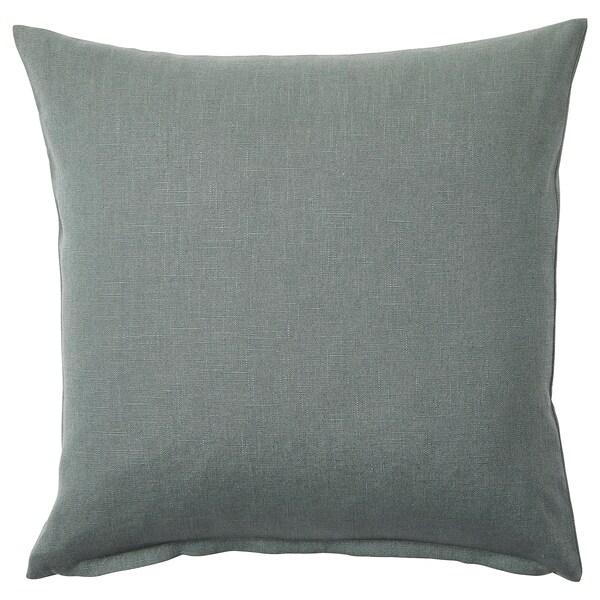 VIGDIS Housse de coussin, vert pâle, 50x50 cm