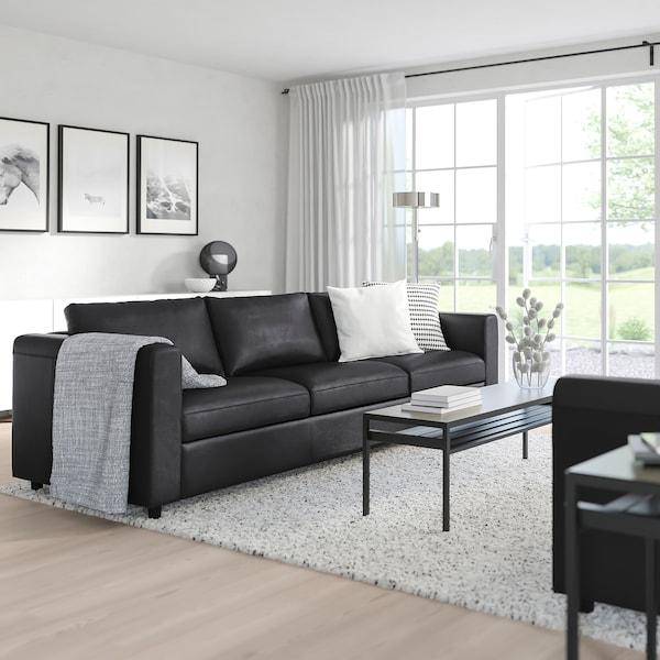 VIMLE Canapé 3 places, Grann/Bomstad noir
