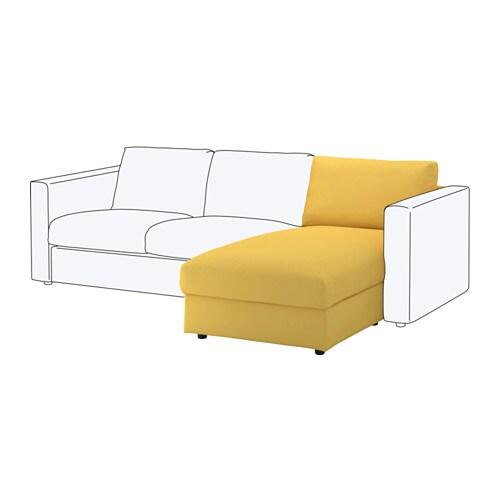 Vimle m ridienne orrsta jaune dor ikea for Canape jaune ikea