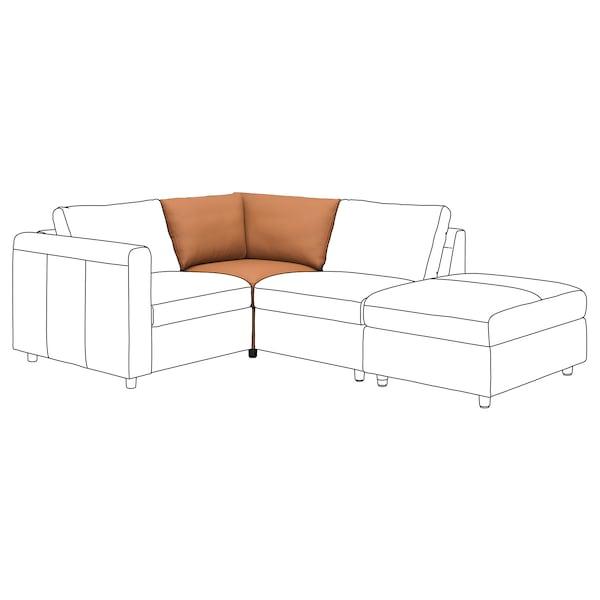VIMLE Module d'angle, Grann/Bomstad brun doré