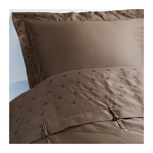 vinranka housse de couette et taie 150x200 50x60 cm ikea. Black Bedroom Furniture Sets. Home Design Ideas