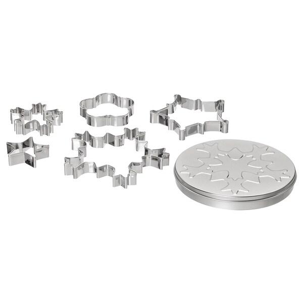 VINTER 2020 5 emporte-pièces avec boîte, formes assorties