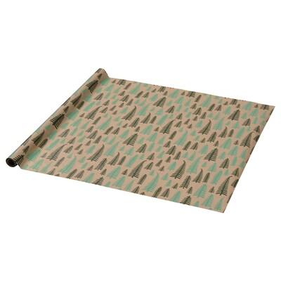 VINTER 2021 Papier cadeau, motif arbre brun, 3x0.7 m
