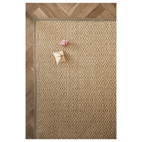 VISTOFT tapis tissé à plat naturel 240 cm 170 cm 8 mm 4.08 m² 2840 g/m²