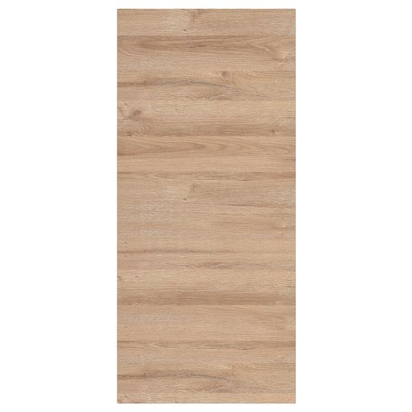 VOXTORP Panneau latéral de finition, motif chêne, 39x86 cm