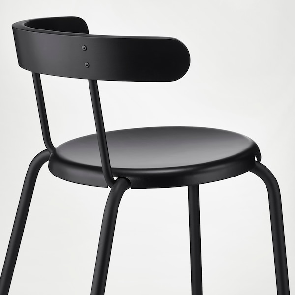 YNGVAR chaise anthracite 110 kg 53 cm 51 cm 71 cm 40 cm 40 cm 46 cm
