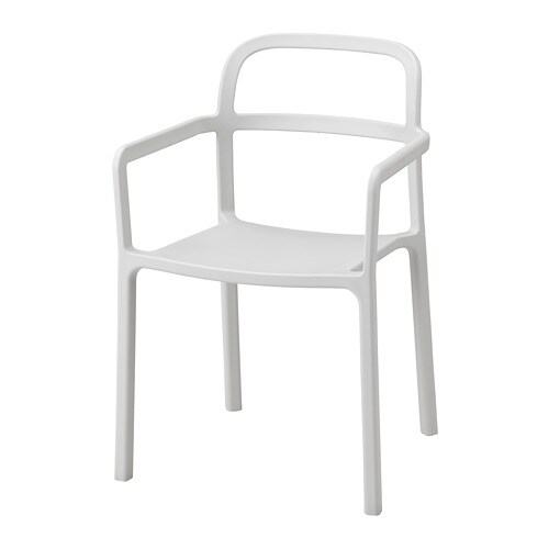 Ypperlig Chaise A Accoudoirs Int Exterieur Ikea