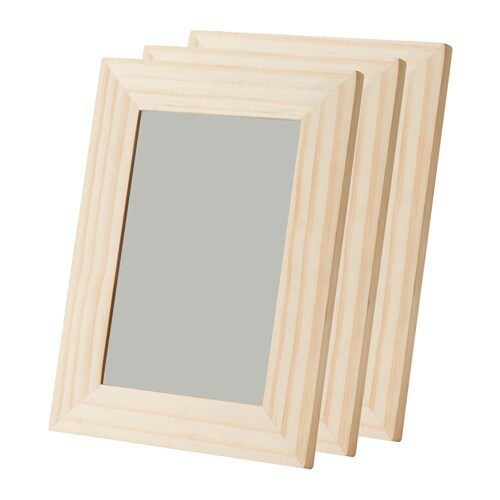 Albrunna cornice ikea for Clip de verre cadres photo ikea