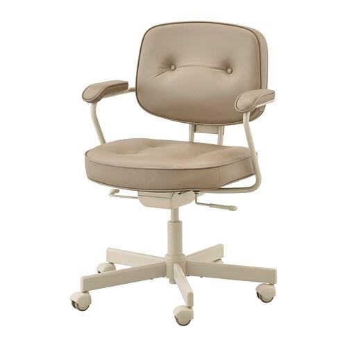 Sedia Da Ufficio Ikea.Alefjall Sedia Da Ufficio Grann Beige
