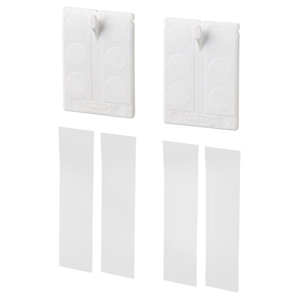 ALFTA Gancio adesivo per struttura, bianco