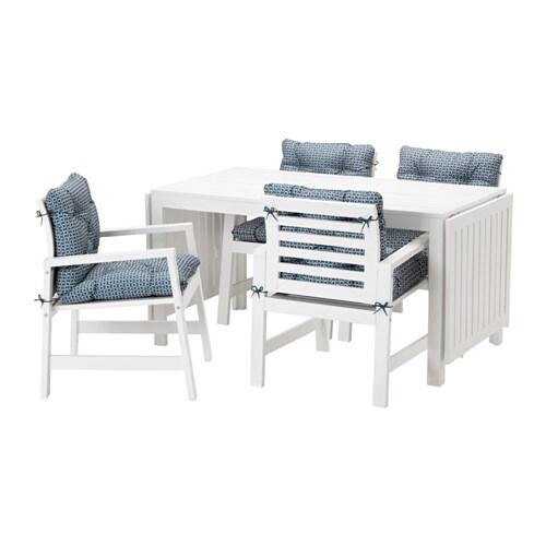 Pplar tavolo 4 sedie braccioli giardino ikea - Sedie ikea giardino ...