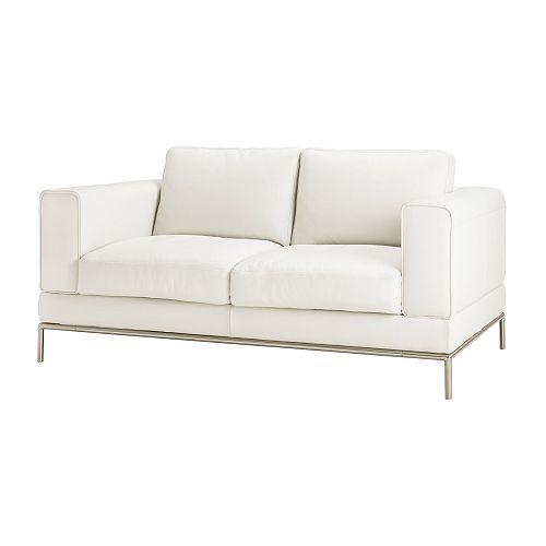 Divani In Pelle 2 Posti.Arild Divano A 2 Posti Grann Bianco Ikea Svizzera